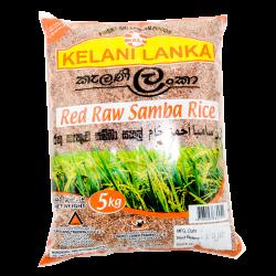 Kelani Lanka Red Raw Samba 5kg