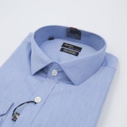 Signature Achiever's Choice Formal Blue Long Sleeve Shirt