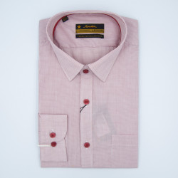 Signature Legend Formal Pink Checked Long Sleeve Shirt