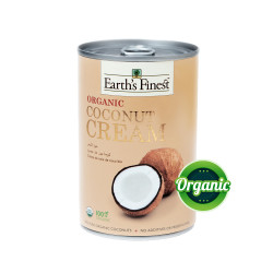 Earth's Finest Organic Coconut Cream 400ml