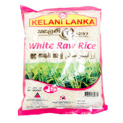 Kelani Lanka White Raw Rice 1kg